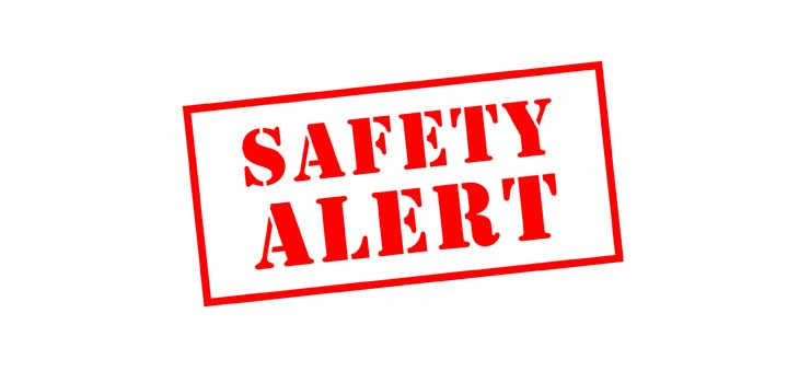 Safety Update 5th January
